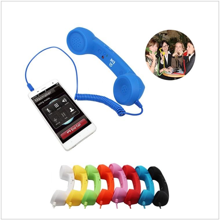 Retro - telefonní sluchátko k mobilu / tnk-13-02489