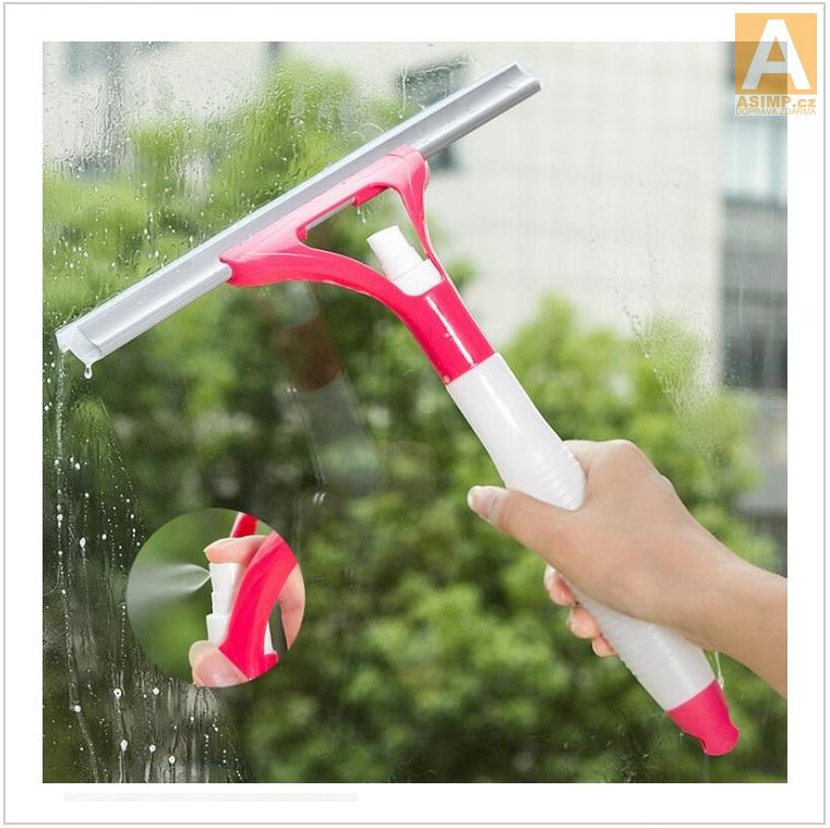 Rozprašovač a stěrka na mytí oken / tnk-13-02545