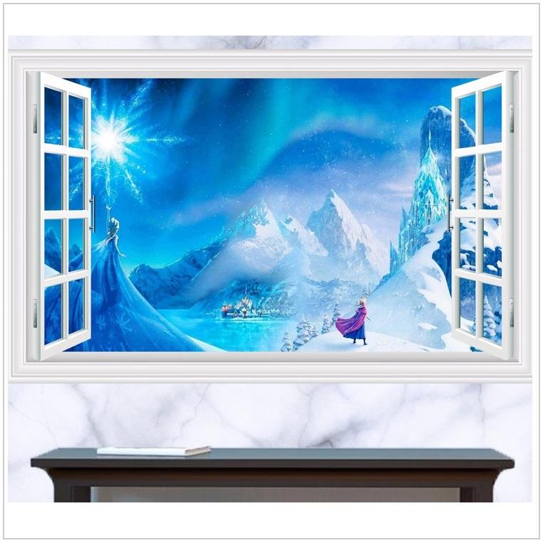 Dětská tapeta na zeď - Ledové království / dnk-13-01558