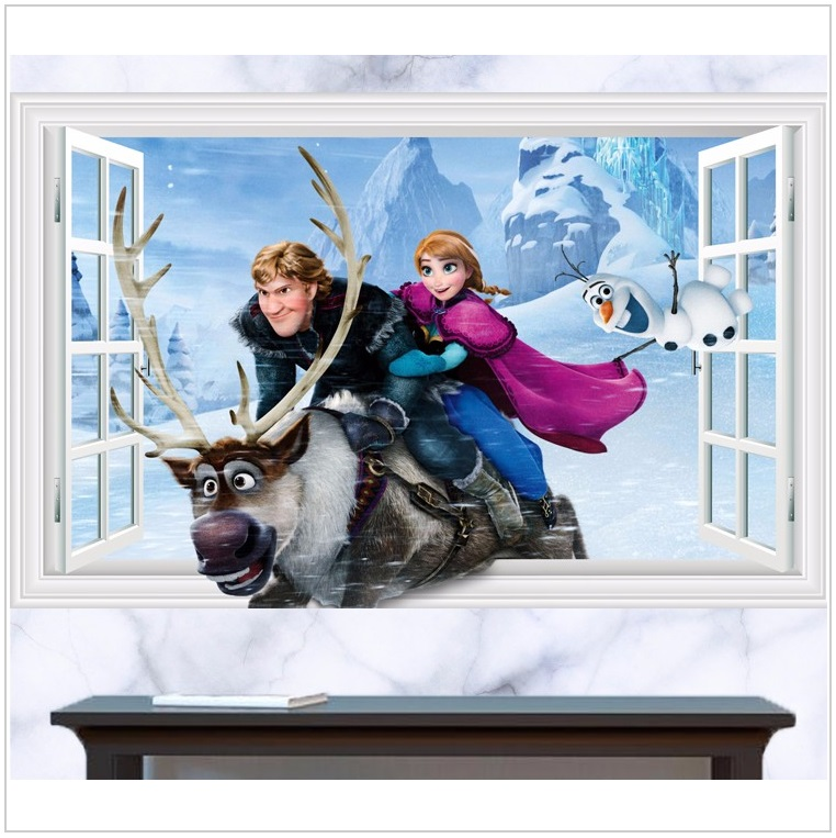 Dětská tapeta na zeď - Ledové království / dnk-13-01559