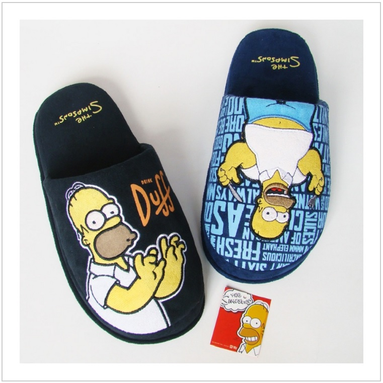 Pánské bačkory - Homer Simpson / dnk-13-01570