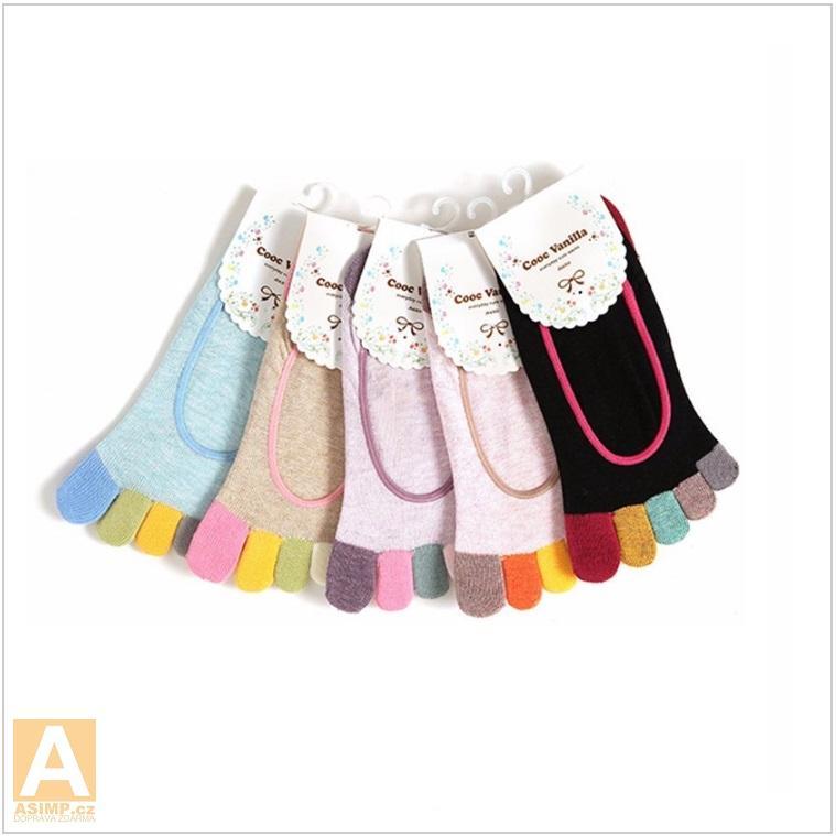 9afa13c1b58 Dámské prstové kotníčkové ponožky   AD-00070