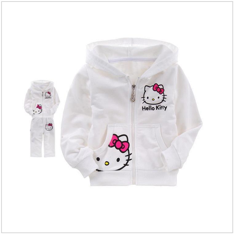 Dětská tepláková souprava - Hello Kitty / AT-00018b