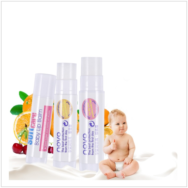 Dětský ovocný balzám na rty / AD-00083