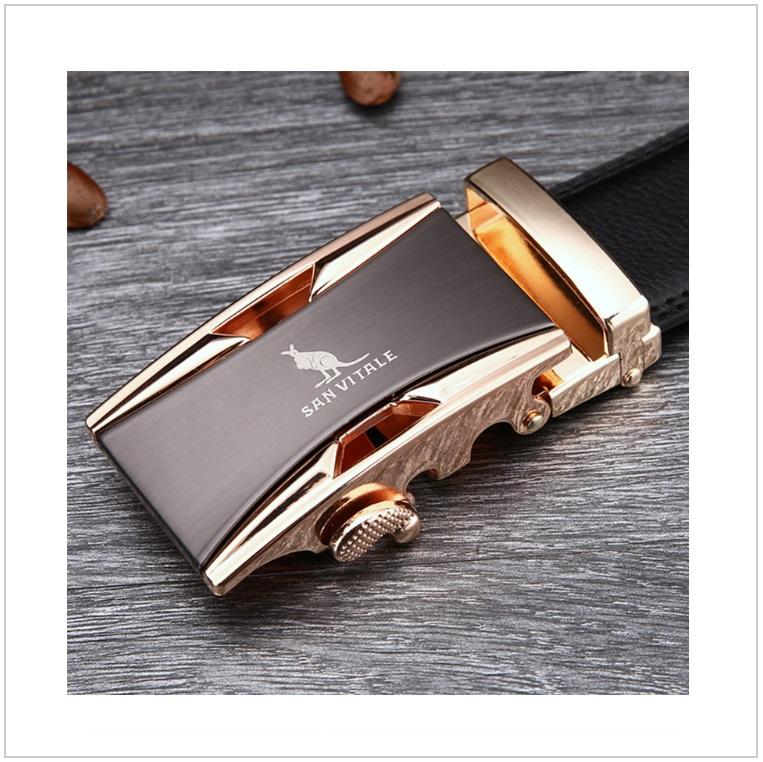 Pánský kožený pásek / AT-00060a
