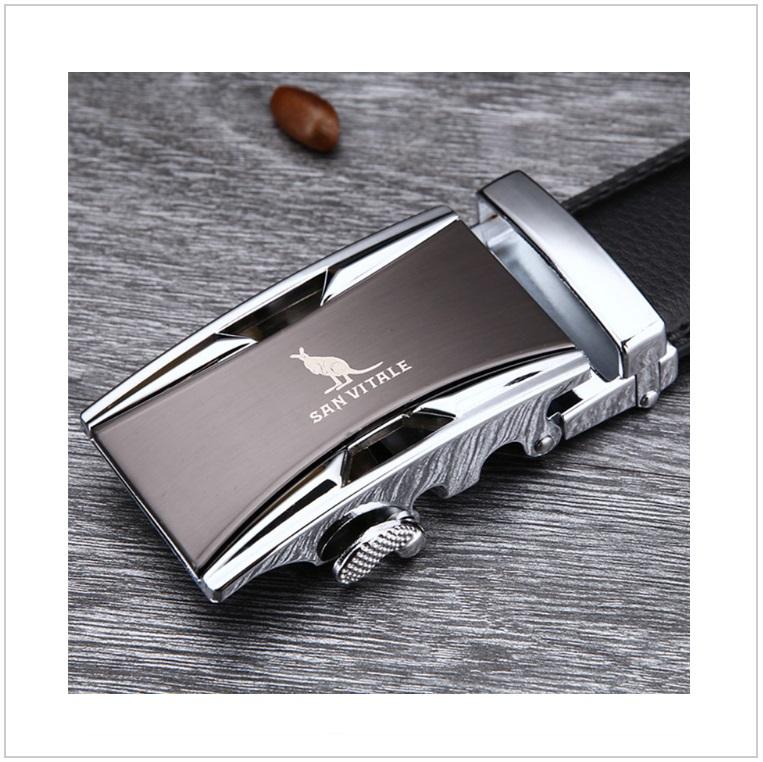 Pánský kožený pásek / AT-00060b
