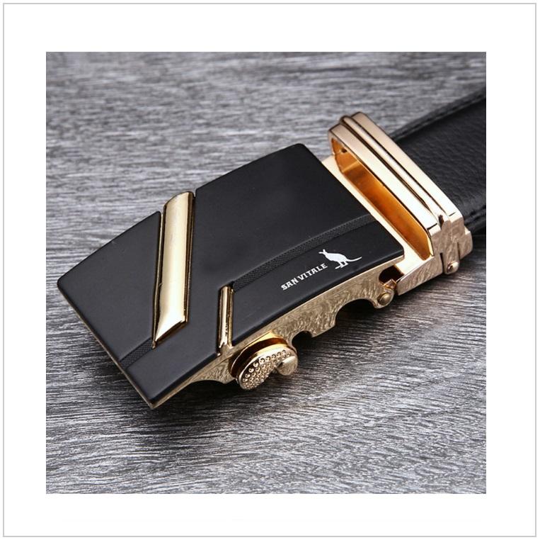 Pánský kožený pásek / AT-00060c