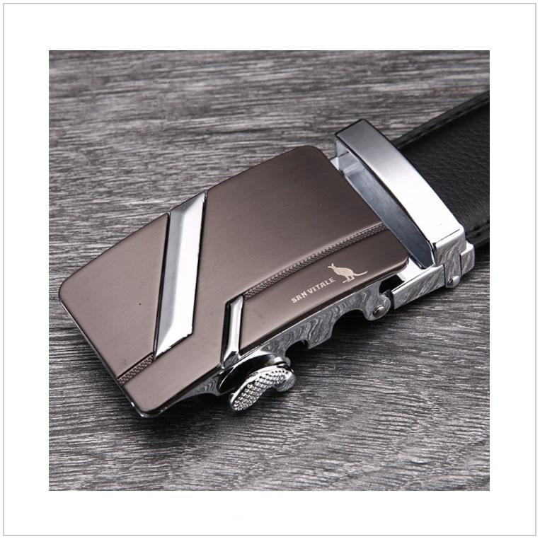 Pánský kožený pásek / AT-00060d