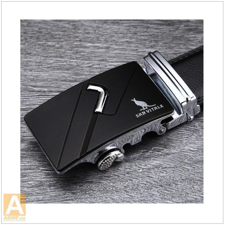 Pánský kožený pásek / AT-00061a