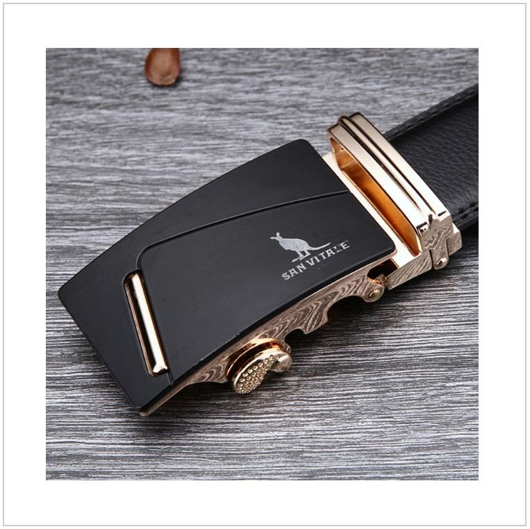 Pánský kožený pásek / AT-00061b