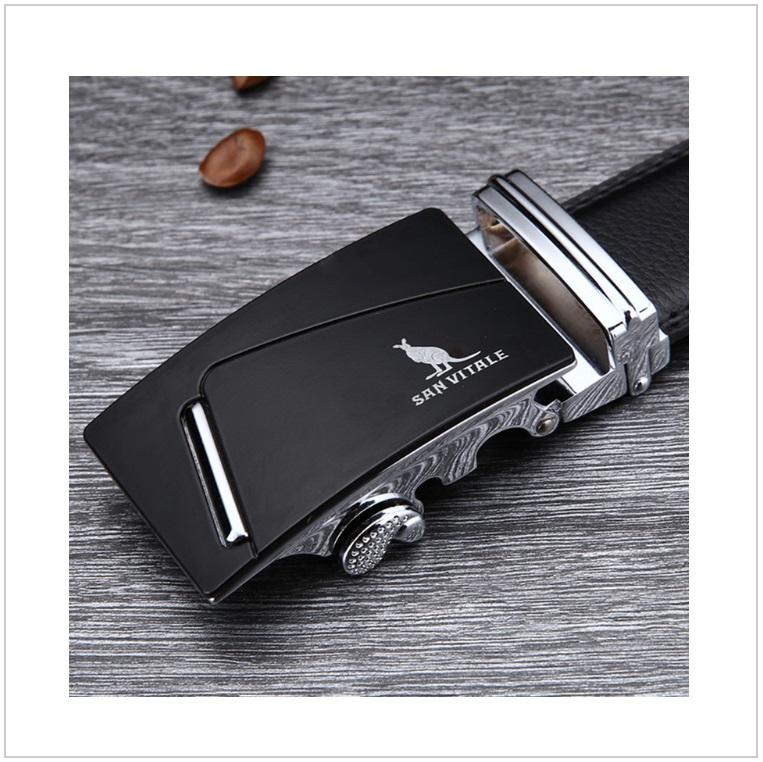 Pánský kožený pásek / AT-00061c