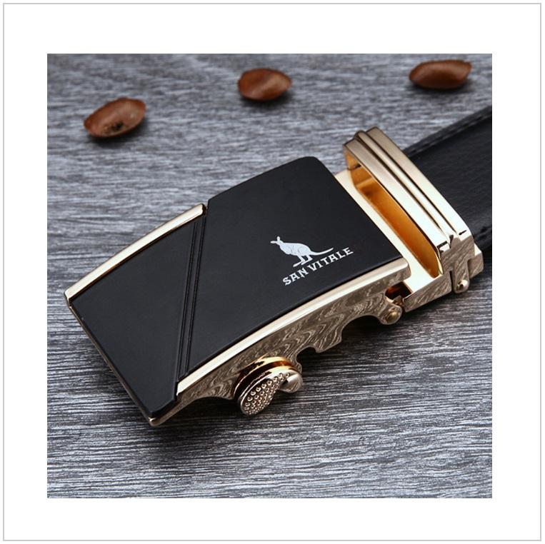 Pánský kožený pásek / AT-00061d