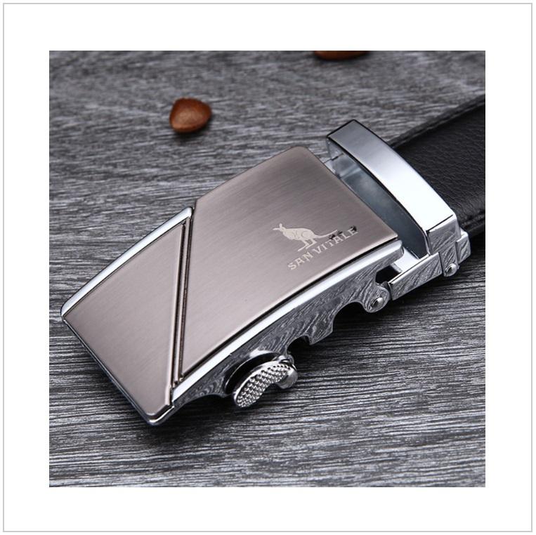 Pánský kožený pásek / AT-00061e