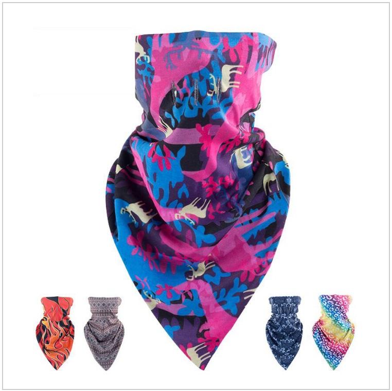 Sportovní šátek - polokukla / AT-00071