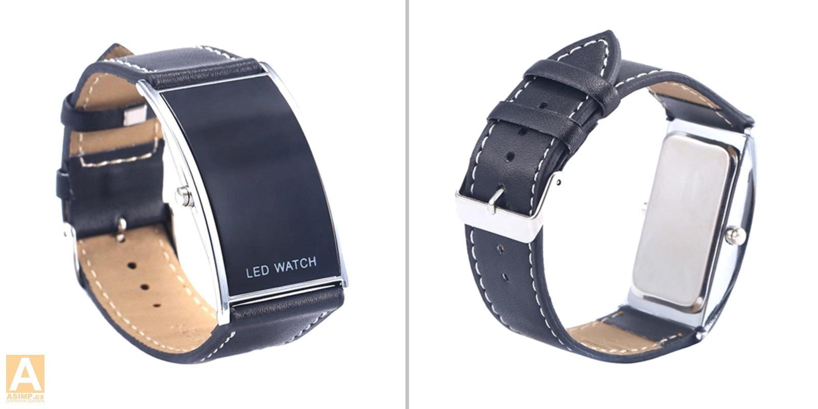 Unisex digitální LED hodinky / A-001246