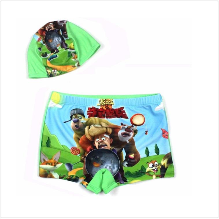 Dětské plavky s koupací čepicí / AD-00104d