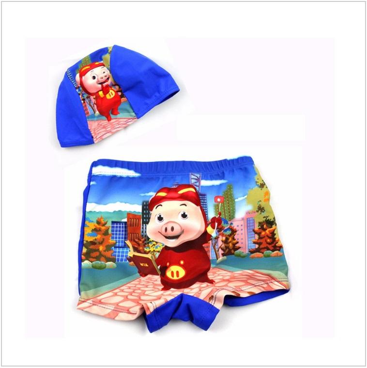 Dětské plavky s koupací čepicí / AD-00104e