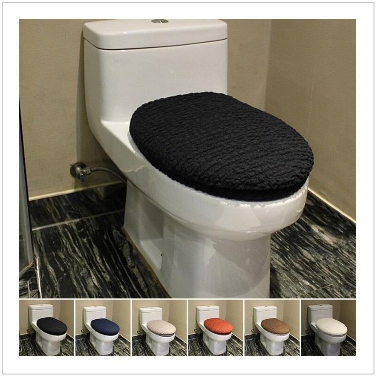 Potah na záchodové prkénko + víko (černé) / AT-00119