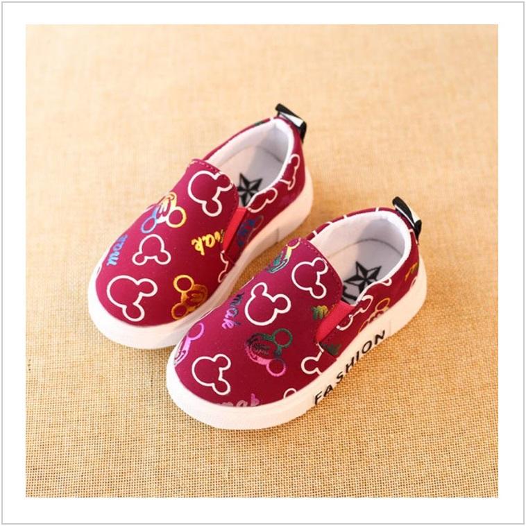 Dětské boty - červené / AD-00207b