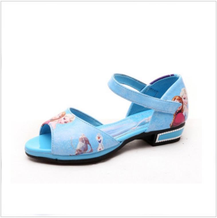 Dětská letní obuv - Ledové království / AD-00224a