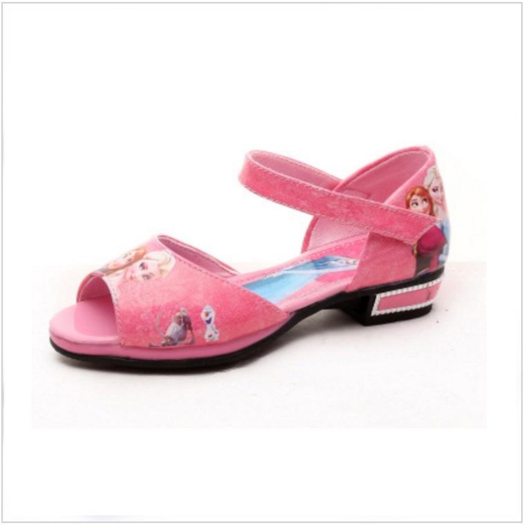 Dětská letní obuv - Ledové království / AD-00224c