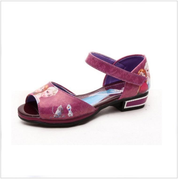 Dětská letní obuv - Ledové království / AD-00224d