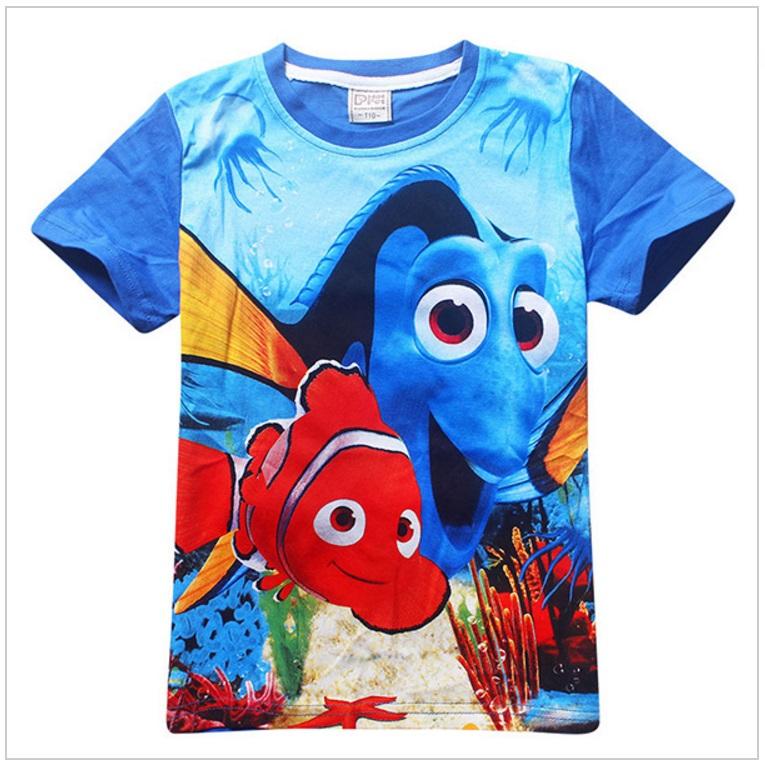 Dětské tričko - Hledá se Nemo / AD-00240b