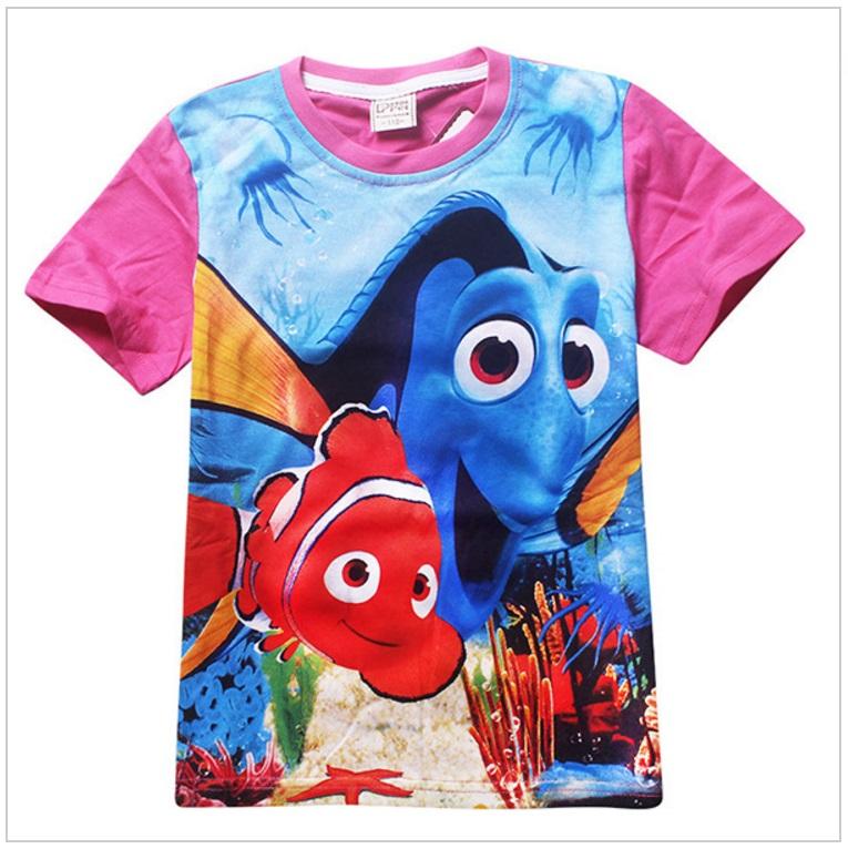 Dětské tričko - Hledá se Nemo / AD-00240c