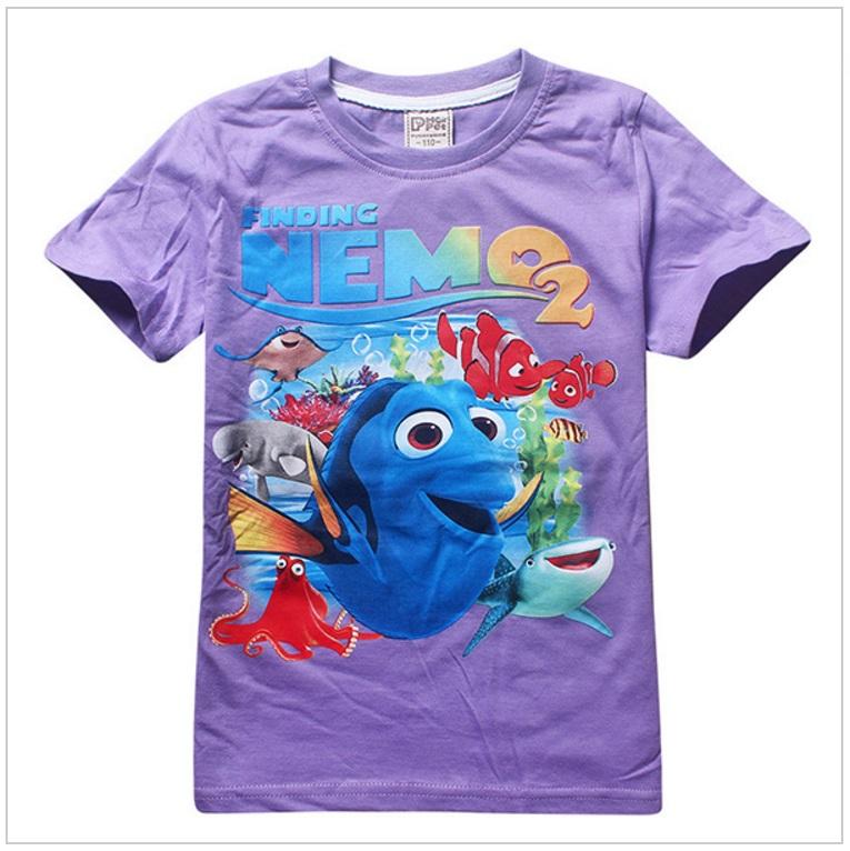 Dětské tričko - Hledá se Nemo / AD-00240d