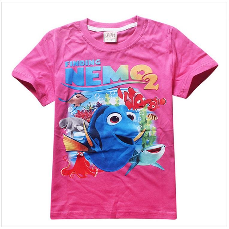 Dětské tričko - Hledá se Nemo / AD-00240e