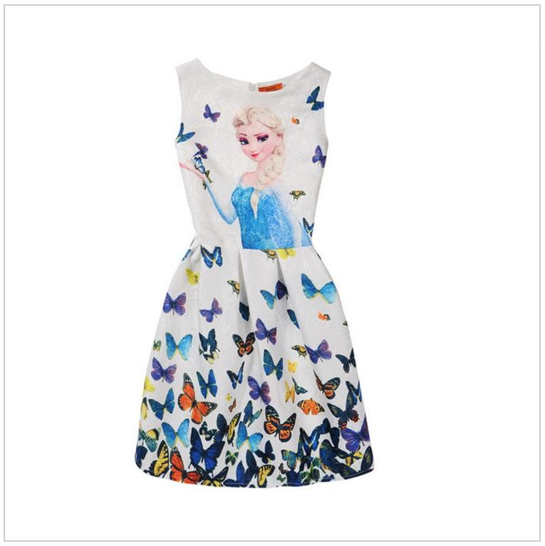 Dětské šaty - Ledové Království / AD-00244g