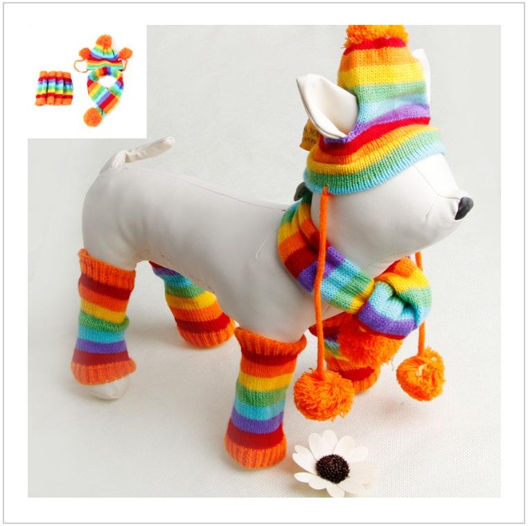 Zimní obleček pro psy (set - 3 ks) / AT-00197