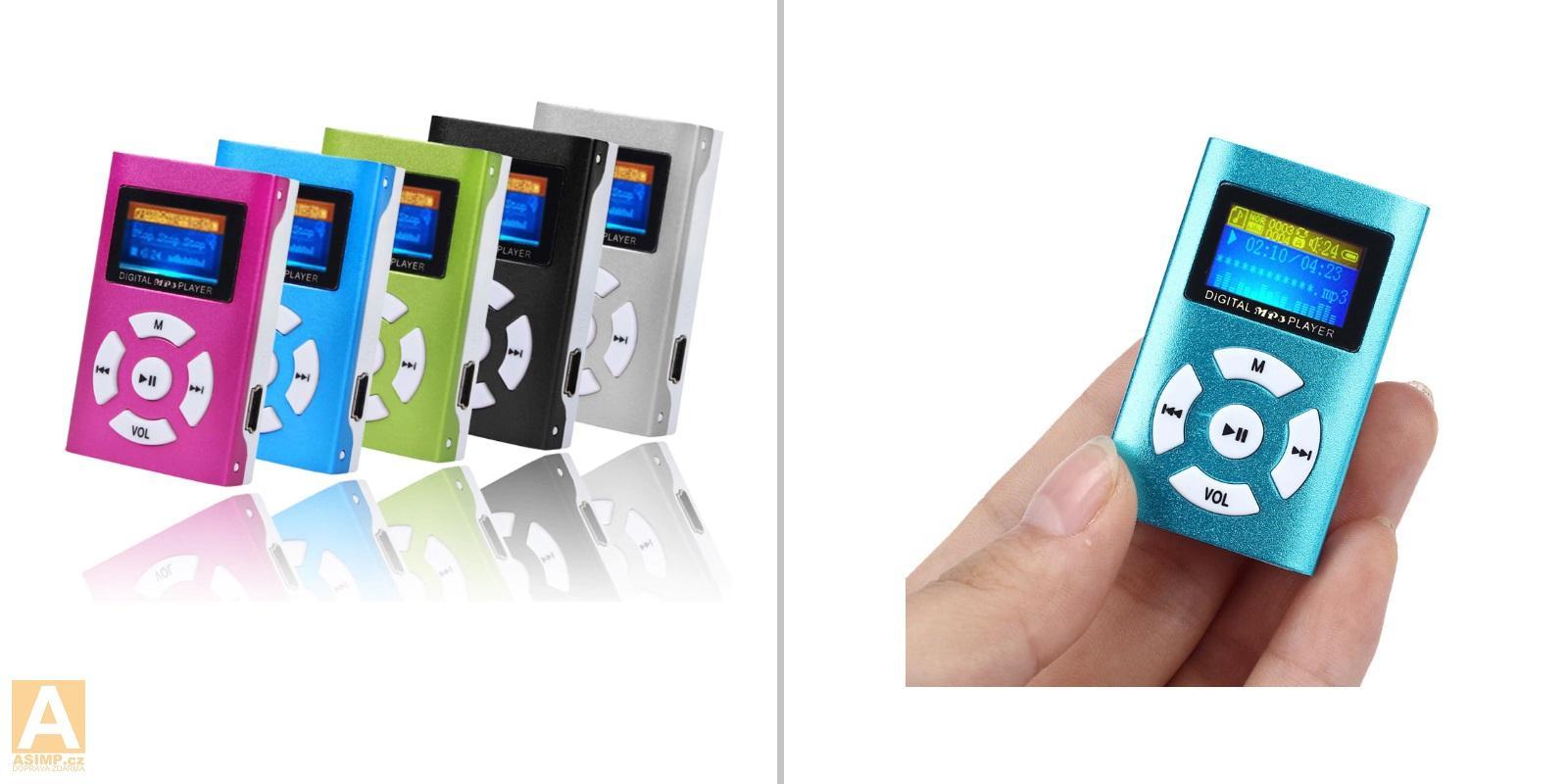 MP3 přehrávač / A-001065