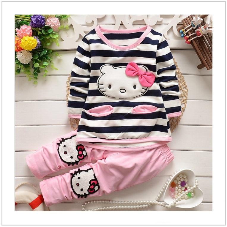 Dětská tepláková souprava - Hello Kitty / AT-00372