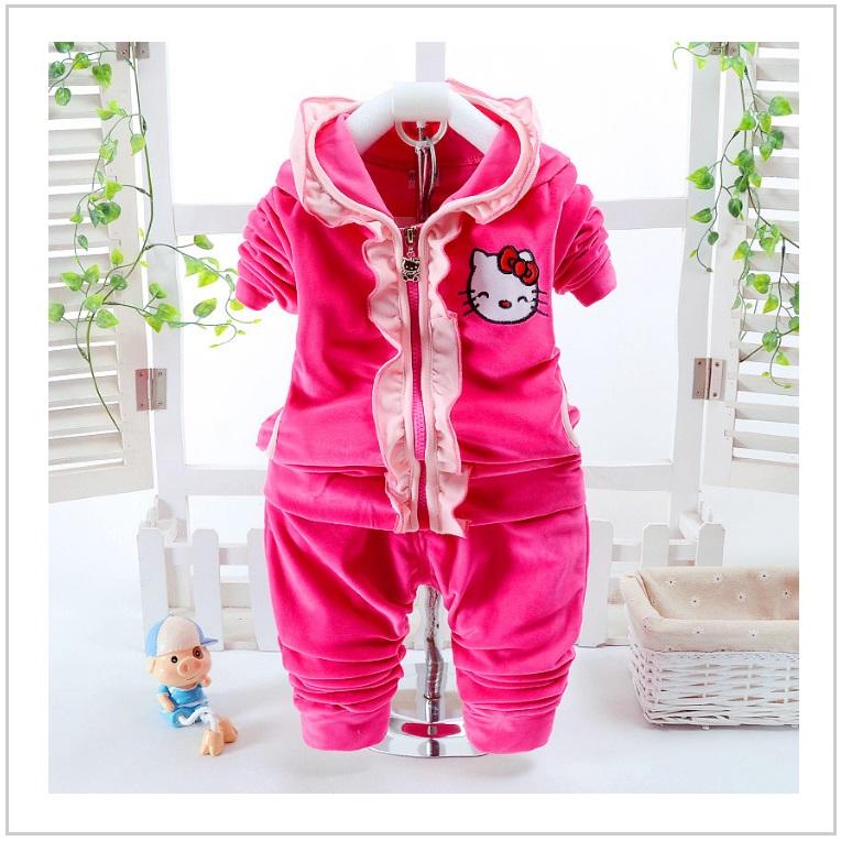Dětská tepláková souprava - Hello Kitty / AT-00349