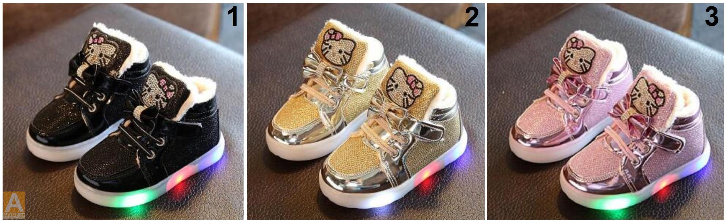 6e3d6018f84 Dětská svítící obuv - Helo Kitty   AD-00348   DOPRAVA ZDARMA