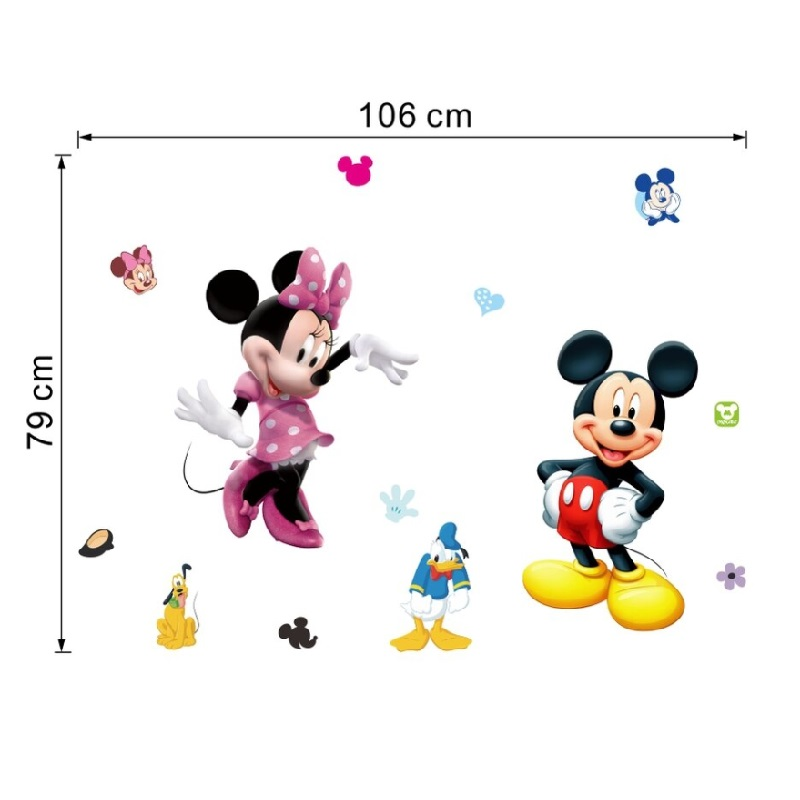 Samolepicí tapeta - Mickey & Minnie / A-001108