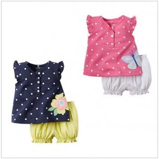 Dětské dívčí tričko   šortky   dnk-13-00281 0b201fb9be
