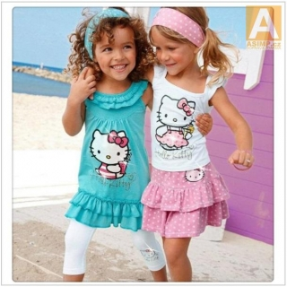 Dívčí set - Hello Kitty / dnk-13-00994