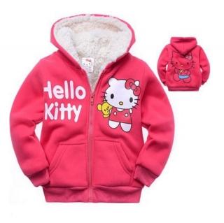 2d1db62396d Dětská zateplená mikina - Hello Kitty   dnk-13-01248