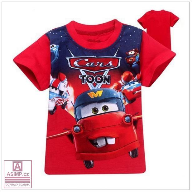 Dětské triko - Auto / tnk-13-00567