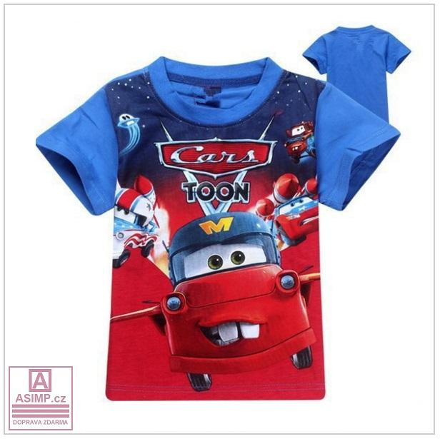 Dětské triko - Auto / tnk-13-00566