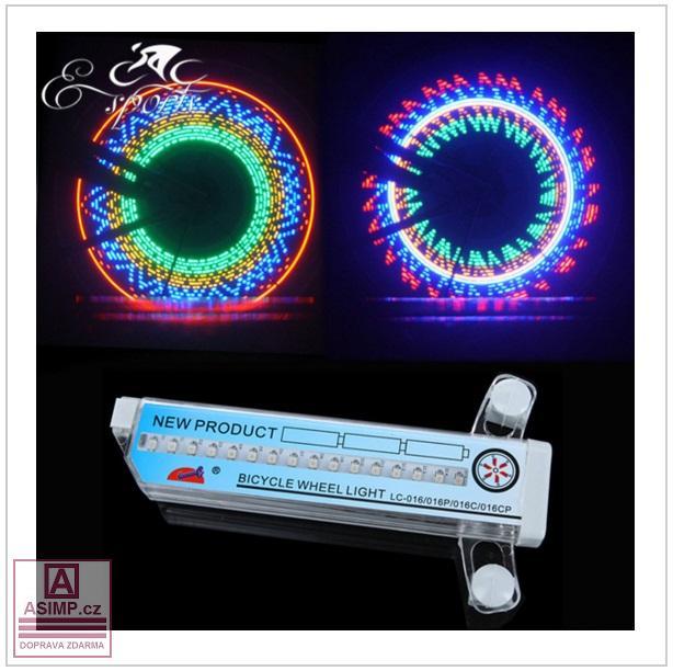 LED světlo na kolo / tnk-13-00511