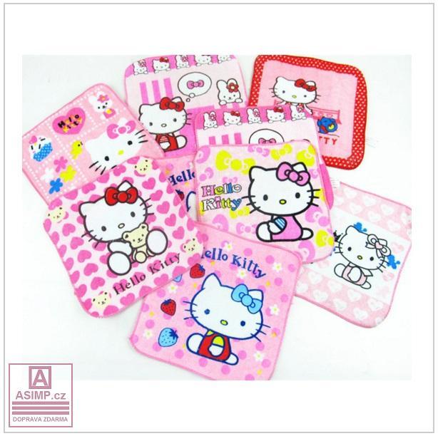 Dětský ručníček - Hello Kitty / tnk-13-00493