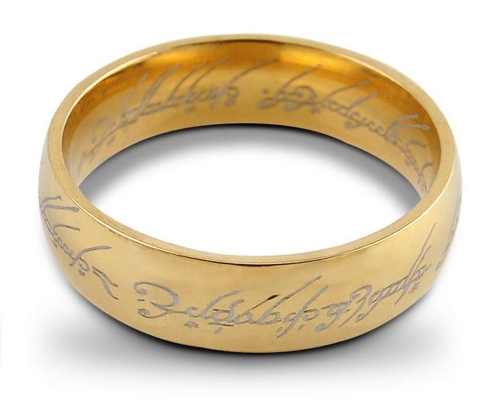 Pánský prsten Pán prstenů