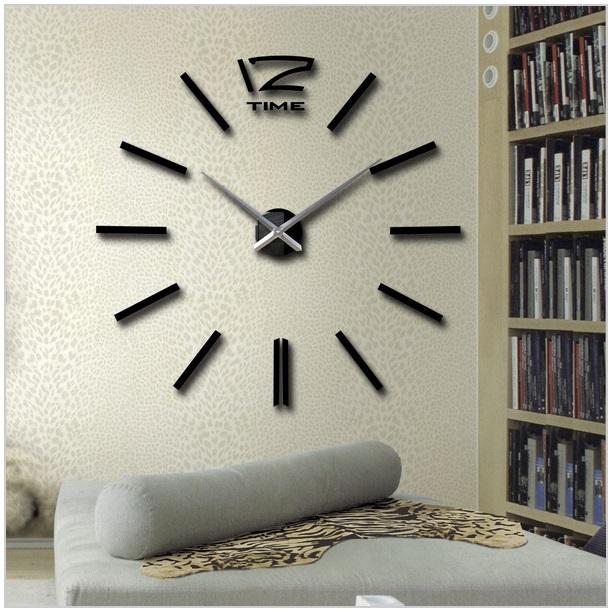 3D nástěnné hodiny / 26-00005b