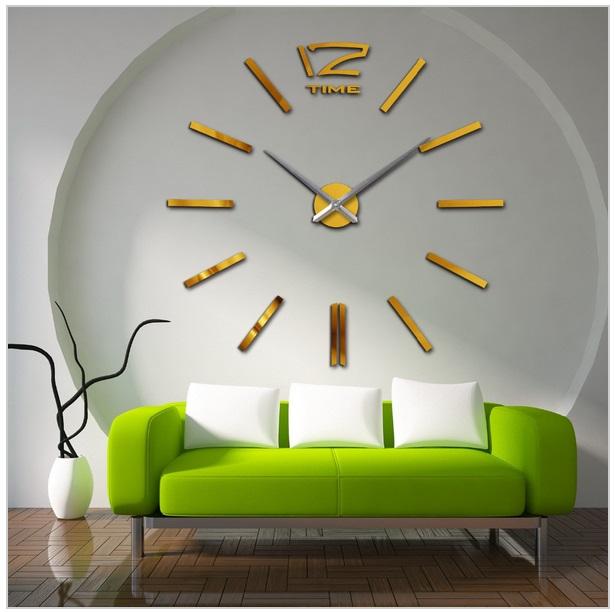 3D nástěnné hodiny / 26-00005c
