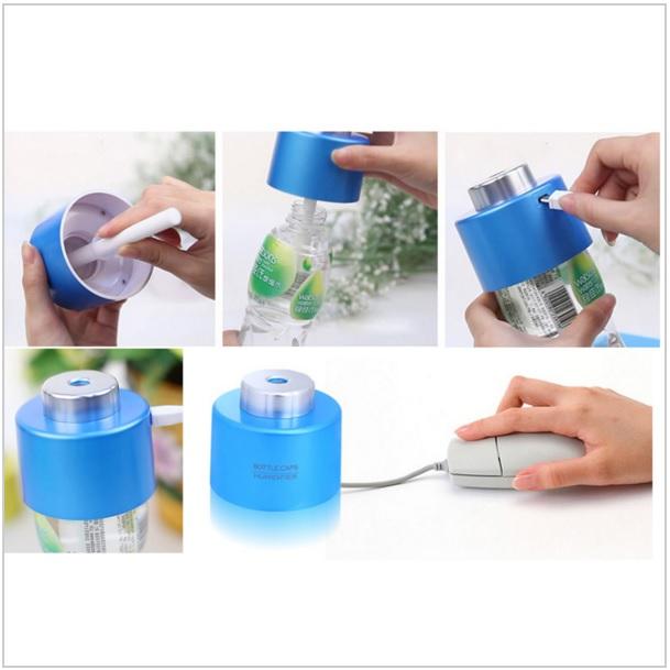 USB přenosný mini zvlhčovač vzduchu + 2 absorpční filtry
