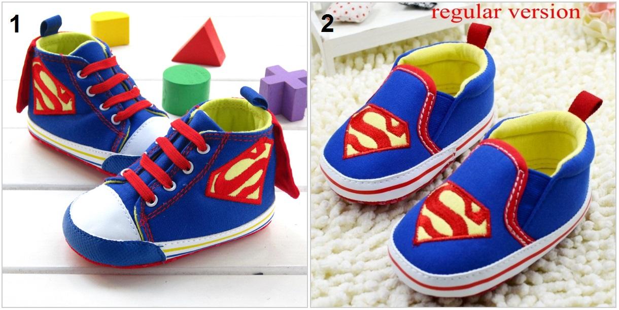 Dětská obuv Superman