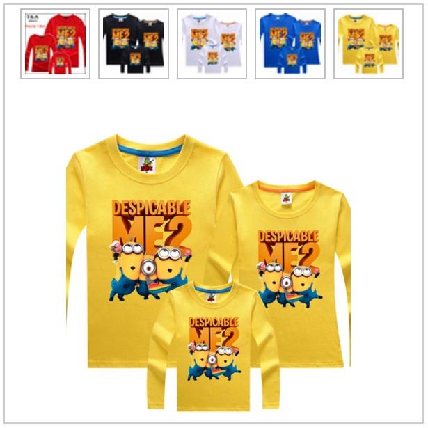 Dětské triko s dlouhým rukávem Mimoni - II